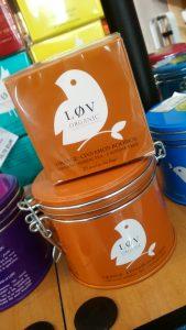 Boites de thé chez Arômes et Gourmandises