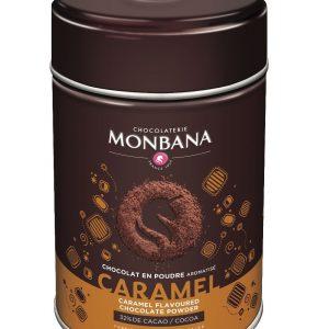 chocolat aromatisé caramel poudre monbana