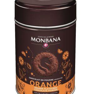 poudre chocolat aromatisé orange