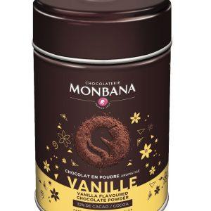 chocolat aromatisé vanille en poudre monbana