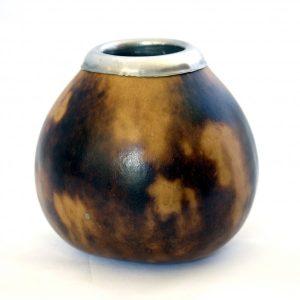 pot à maté bord métallique 2 couleurs sol a sol