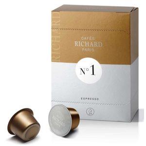 dosettes richard n°1 espresso
