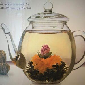 fleurs thé noir