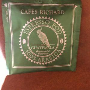 dosettes guatemala boîte