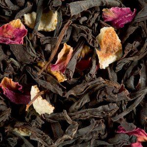 citron caviar rose thé noir dammann