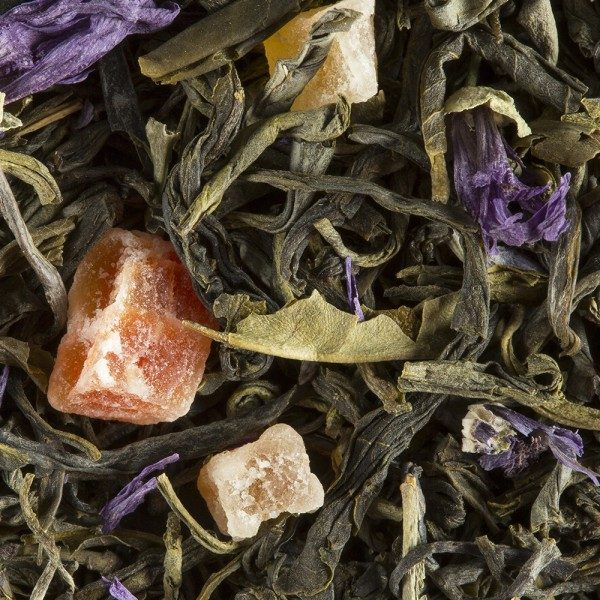 abricot lavande thé vert dammann