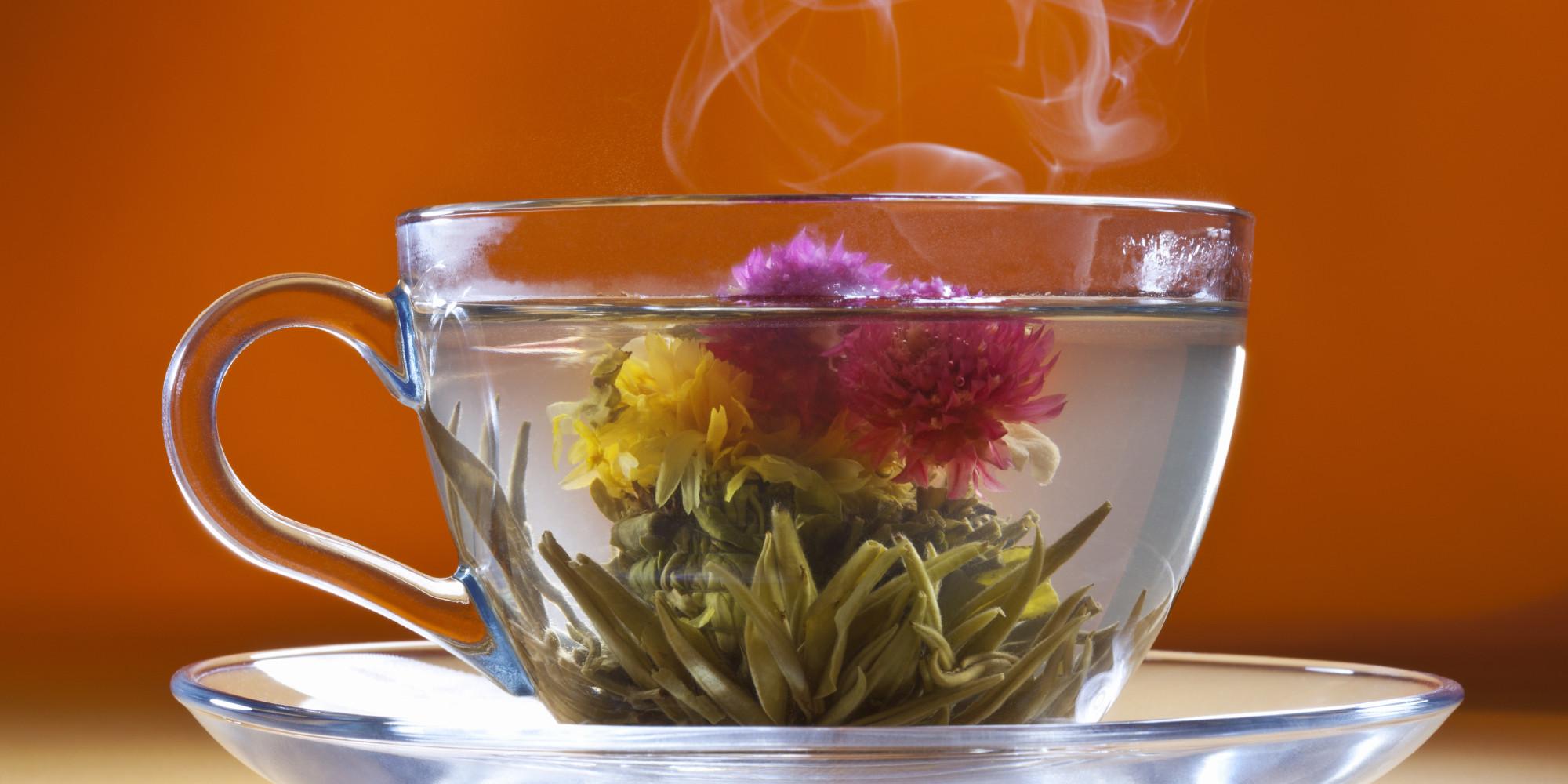 les fleurs de thé